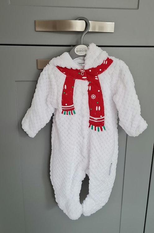 Snowman Pramsuit