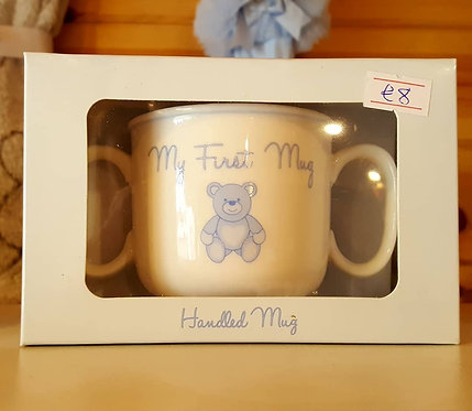 My 1st Teddy Double Handled Mug