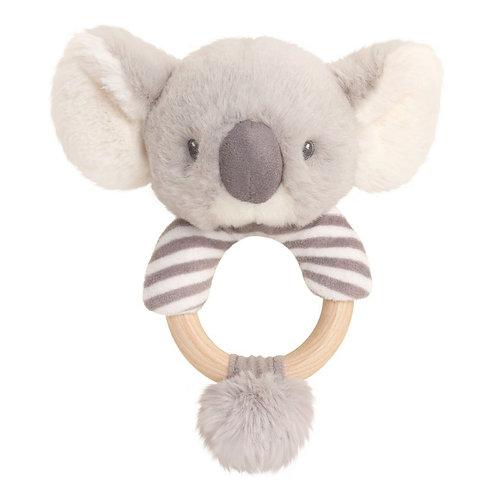 Koala 14cm Ring Rattle