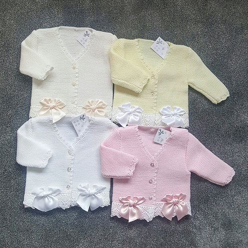 Double Bow Cardigans