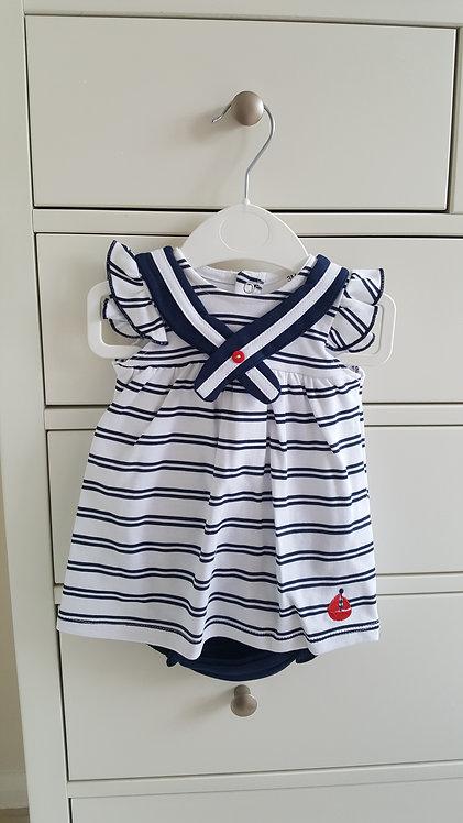 Sailor Striped Bloomer Set