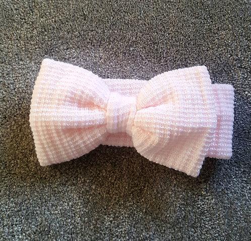 Pink Large Bow Headband