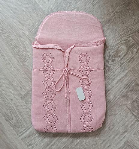 Dusky Pink Swaddle Sac