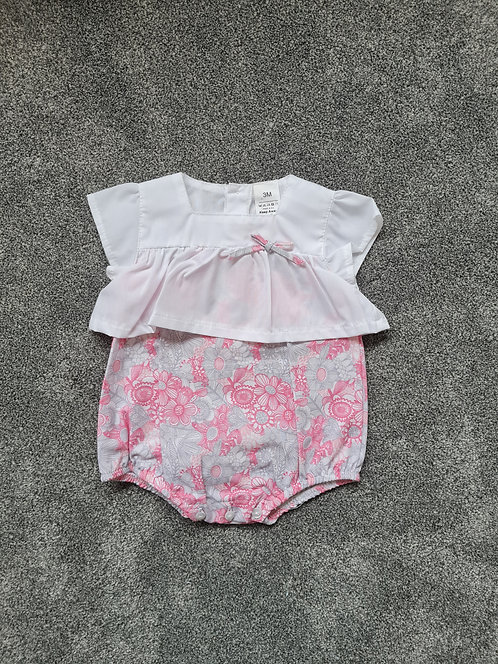 Spanish Floral Light Weight Romper