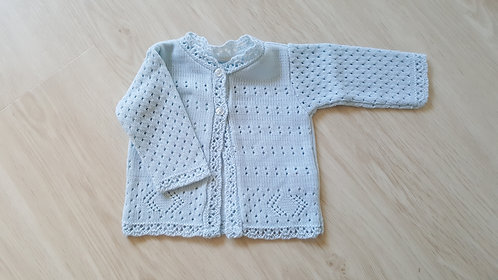 Blue Summer Knitted Cardigan