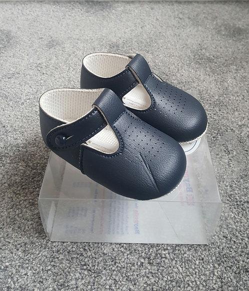 BayPods Navy Blue Soft Sole Shoes