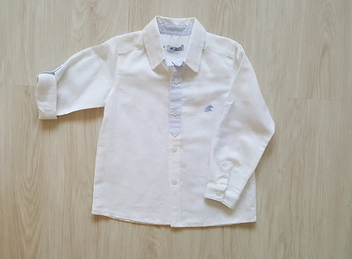 White Linen Spanish Shirt