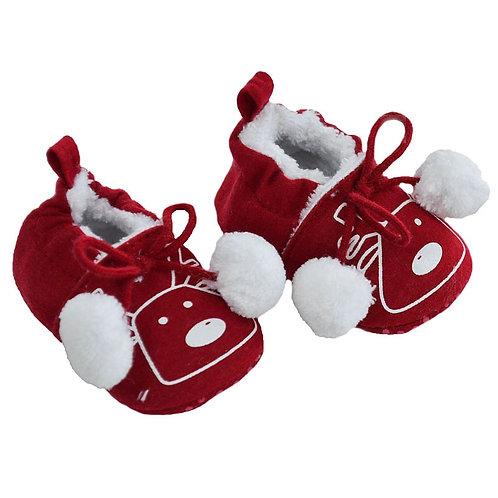 Christmas Pom Pom Slippers