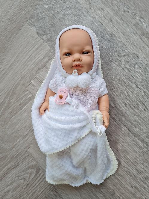 Marina & Pau Baby Girl Real Looking Doll