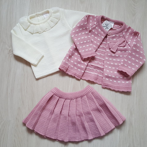 Spanish Knitted 3 Piece Set
