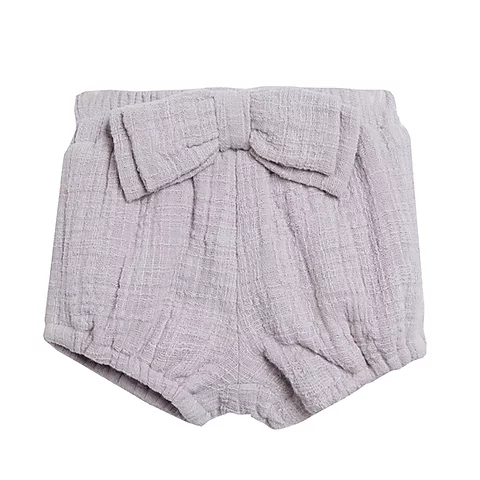 Grey Large Bow Bloomers