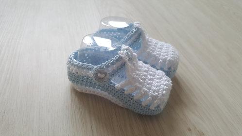 Boys Crochet Shoes