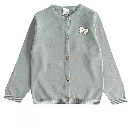 Pale Green Bow Cardigan