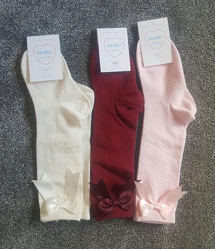 Kinder Bow Knee Socks