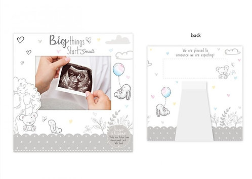 Baby Scan Announcement Cards