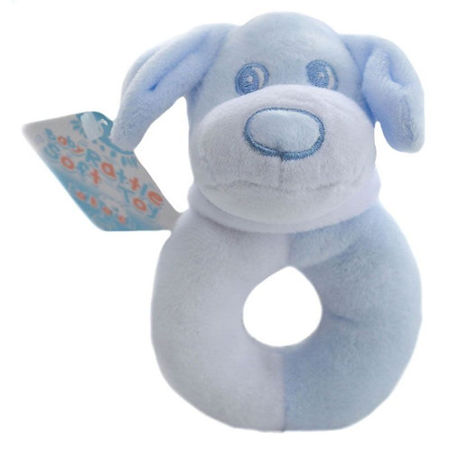 Blue Doggy Rattle