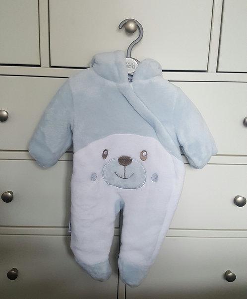 Super Soft Teddy Bear Pramsuit