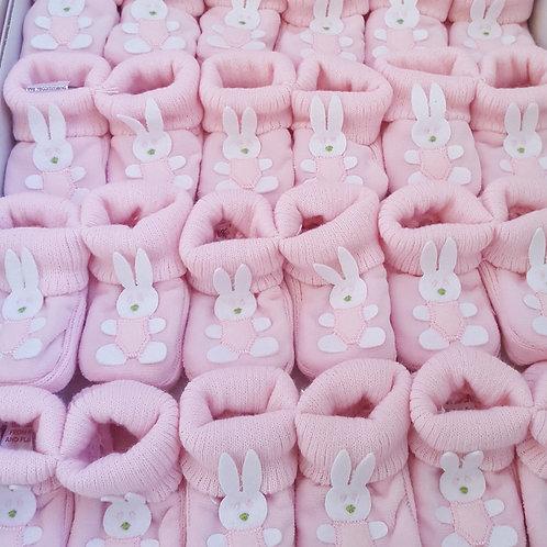 Pink Bunny Booties