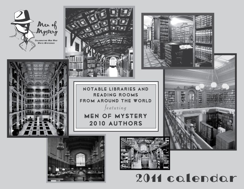 Men of Mystery calendar cover