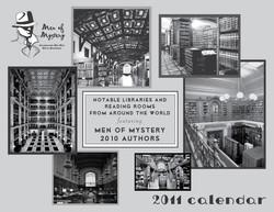 Men of Mystery calendar cover