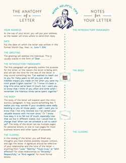 AD Letter Writing One-Sheet (back)