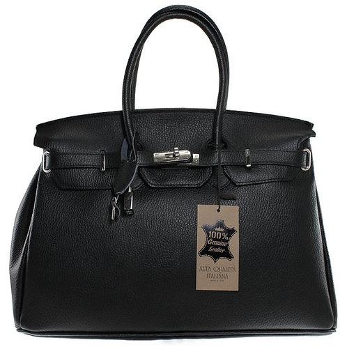 Black Depliannia Handbag