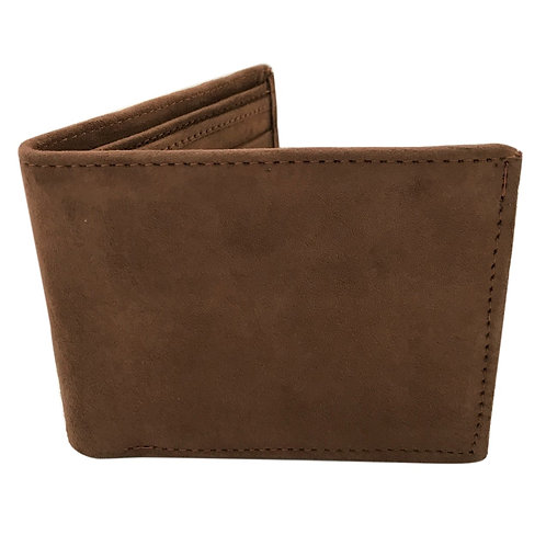 Mens Suede Wallet