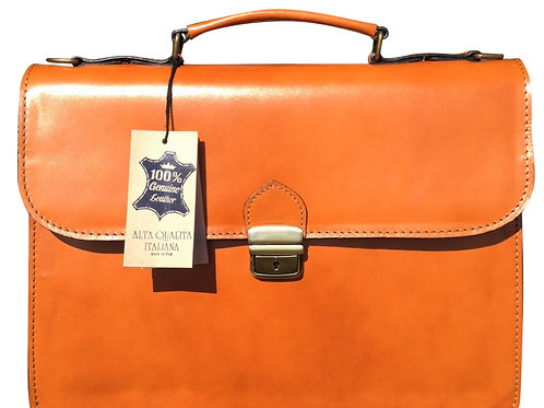 "15"" Bilero Tan Briefcase"