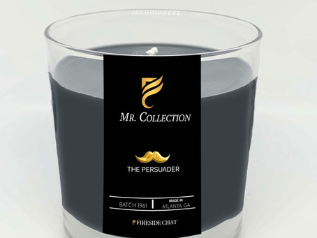 """Introducing The FiresideChat   """"MR. COLLECTION""""  The Persuader On Sale TODAY ONLY 7am - 12am"""