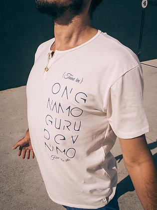 Oak Camiseta hombre algodon organico con logo. Ropa yoga. Kundalini. Moda sostenible. Mantra