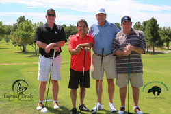 _C4CR 2015 Golf Jobe Materials   1st place morning team and     Overall Winners.