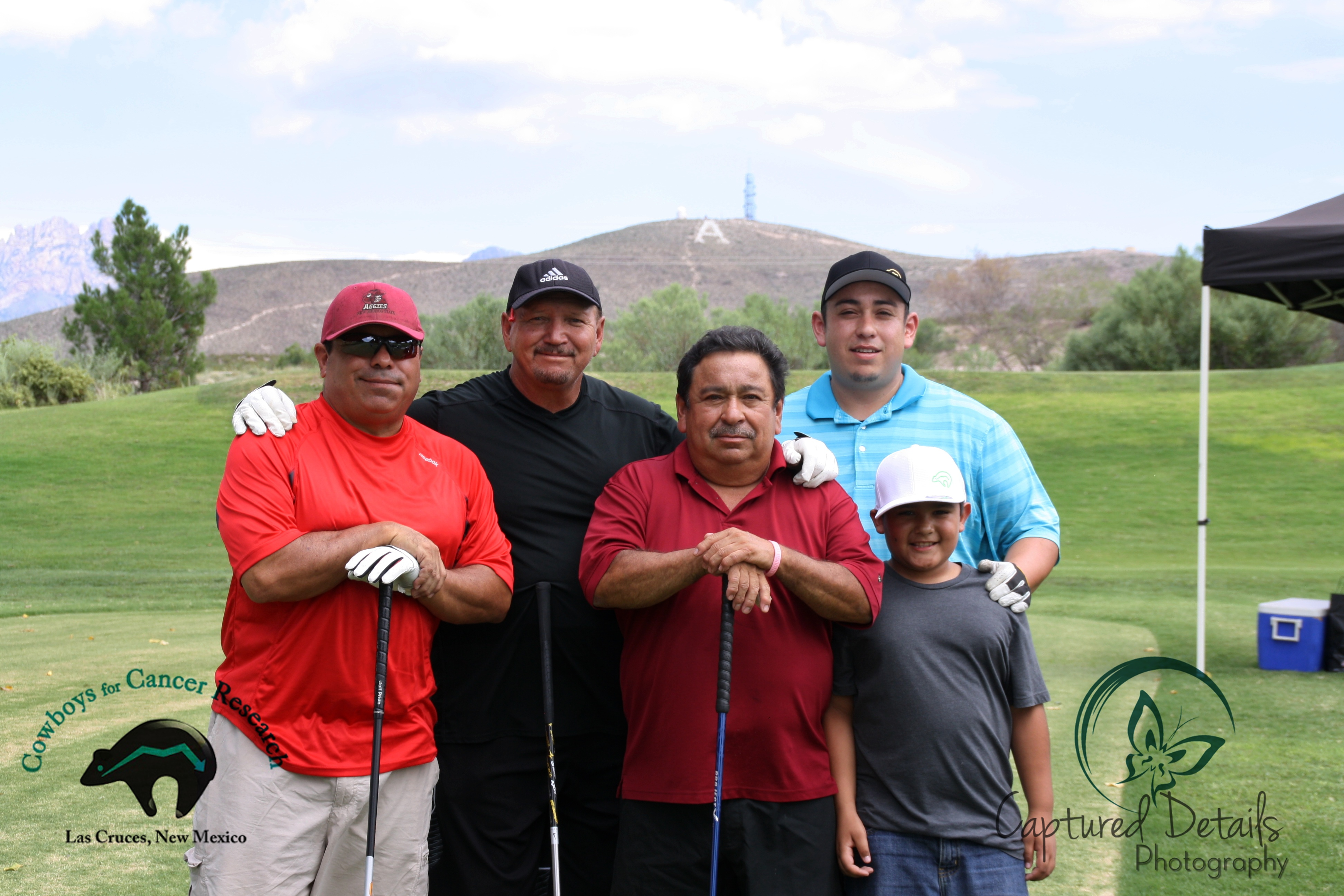C4CR 2015 Golf Bobby Lujan Team morning teams Javier Holguin Closest to the pin