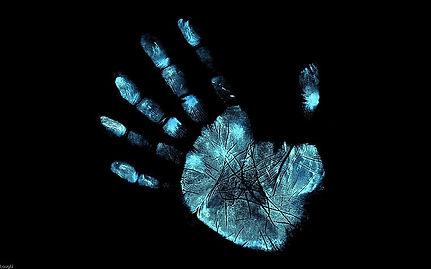 hand-fringe-glyphs-fingerprint-wallpaper