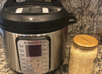 Quick Quinoa (Instant Pot)