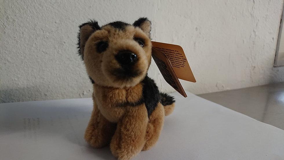 Plush German Shepherd