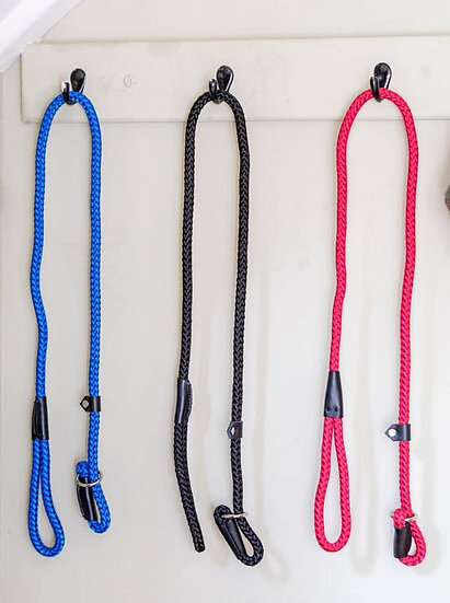Nylon Rope Slip Lead - Various Colours
