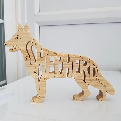 Hand Crafted Wooden Puzzle