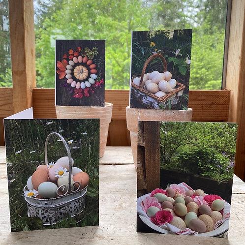 Egg Art Notecards