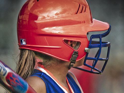 Baseball/Softball Helmet & Mask