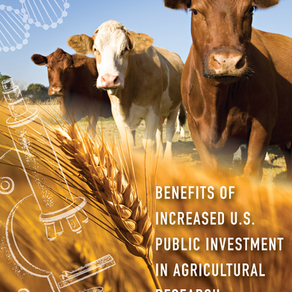 Report Highlights How Stagnant U.S. Public Funding for Agricultural Research Threatens Food Systems