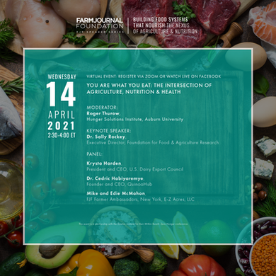 Speaker Series Event Highlights Agriculture's Role in Global Nutrition