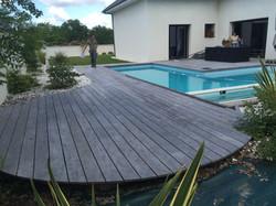 Terrasse en ipé du Brésil