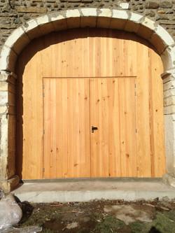 Porte ancienne grange