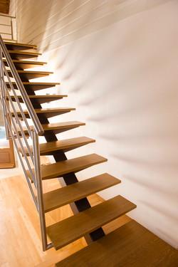 Marches escalier en chêne