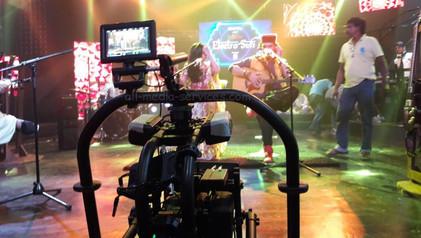 movi pro gimble music video shoot BTS