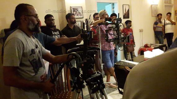 movi pro gimbal on film set BTS mumbai