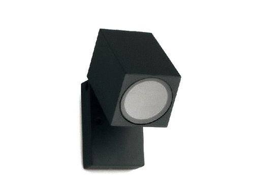 SQUARE ADJUSTABLE WALL PILLAR LIGHT (ST5021BK)