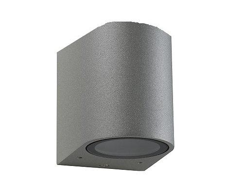 ROUND FIXED DOWN WALL PILLAR LIGHT (ST5022SIL)