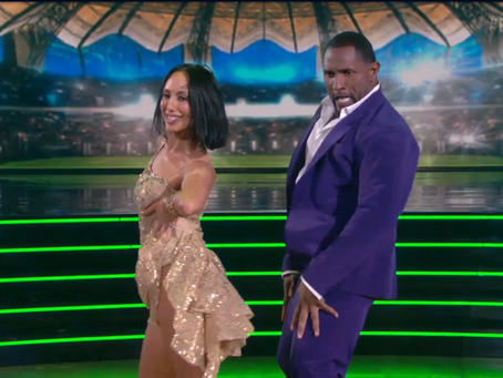 Ray Lewis Debuts on DWTS