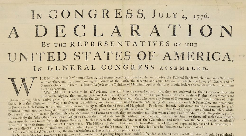 NYC History - How New Yorkers and George Washington's Troops first heard about our Declaration of Independence